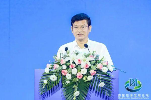 蒋骏出席2021年博鳌旅游发展论坛并发表主题演讲 图2