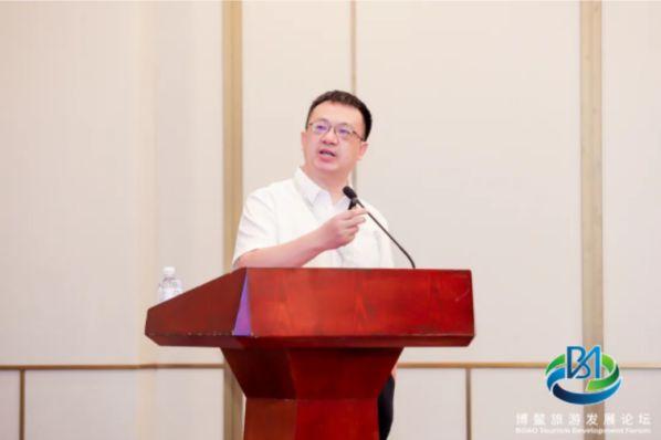 蒋骏出席2021年博鳌旅游发展论坛并发表主题演讲 图5