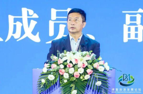 蒋骏出席2021年博鳌旅游发展论坛并发表主题演讲 图3
